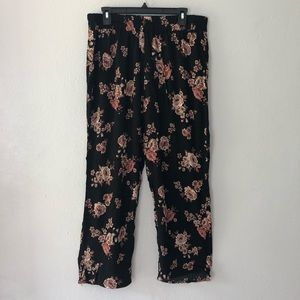 Eden & Olivia, Floral Print Pants